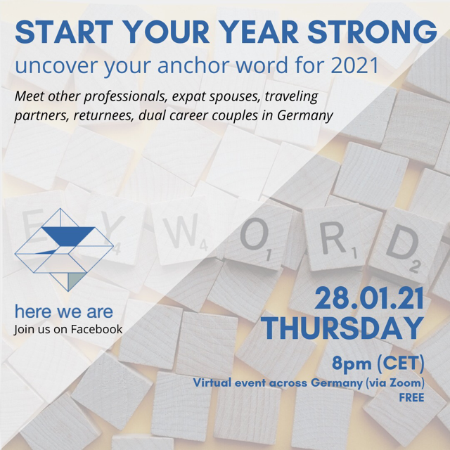 Start Your Year Strong Event Flyer